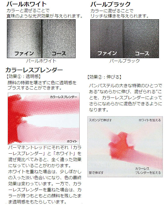 ホルベイン パンパステル メディウム5色セット