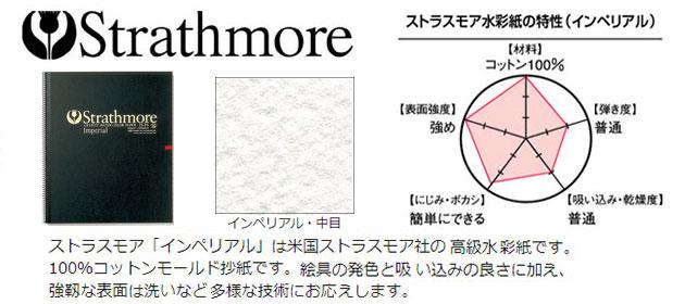 ストラスモア水彩氏スケッチブック